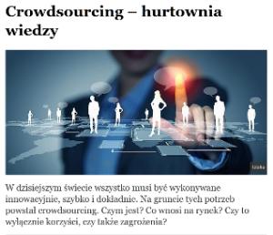 hurtownia wiedzy crowdsourcing